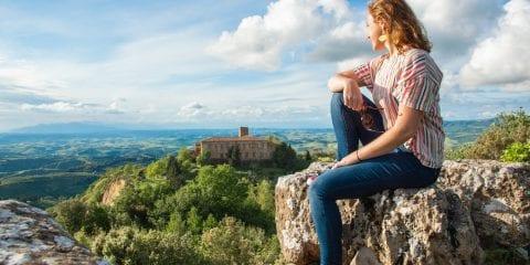 roadtrip route toscane Volterra