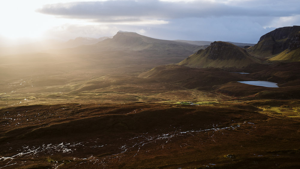 roadtrip schotland views uitzichtpunt zonsopgang kamperen