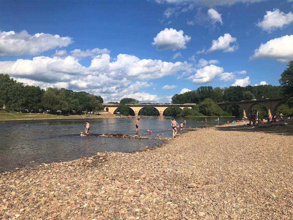 roadtrip zuid frankrijk Zwemmen Dordogne