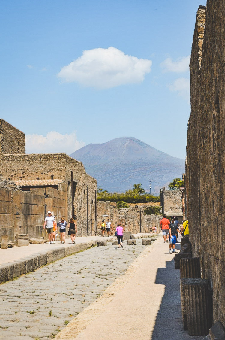 rondreis amalfikust pompei