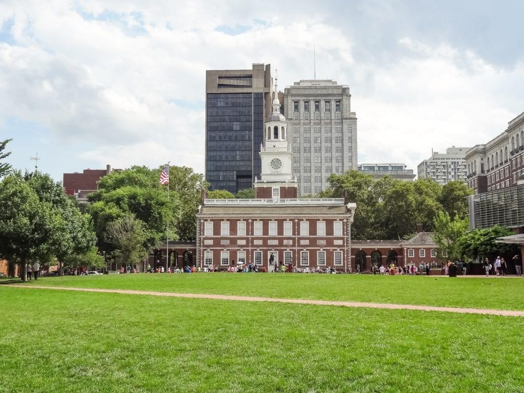 rondreis amerika unesco philadelphia independence hall_
