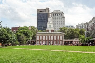 rondreis amerika unesco philadelphia independence hall_