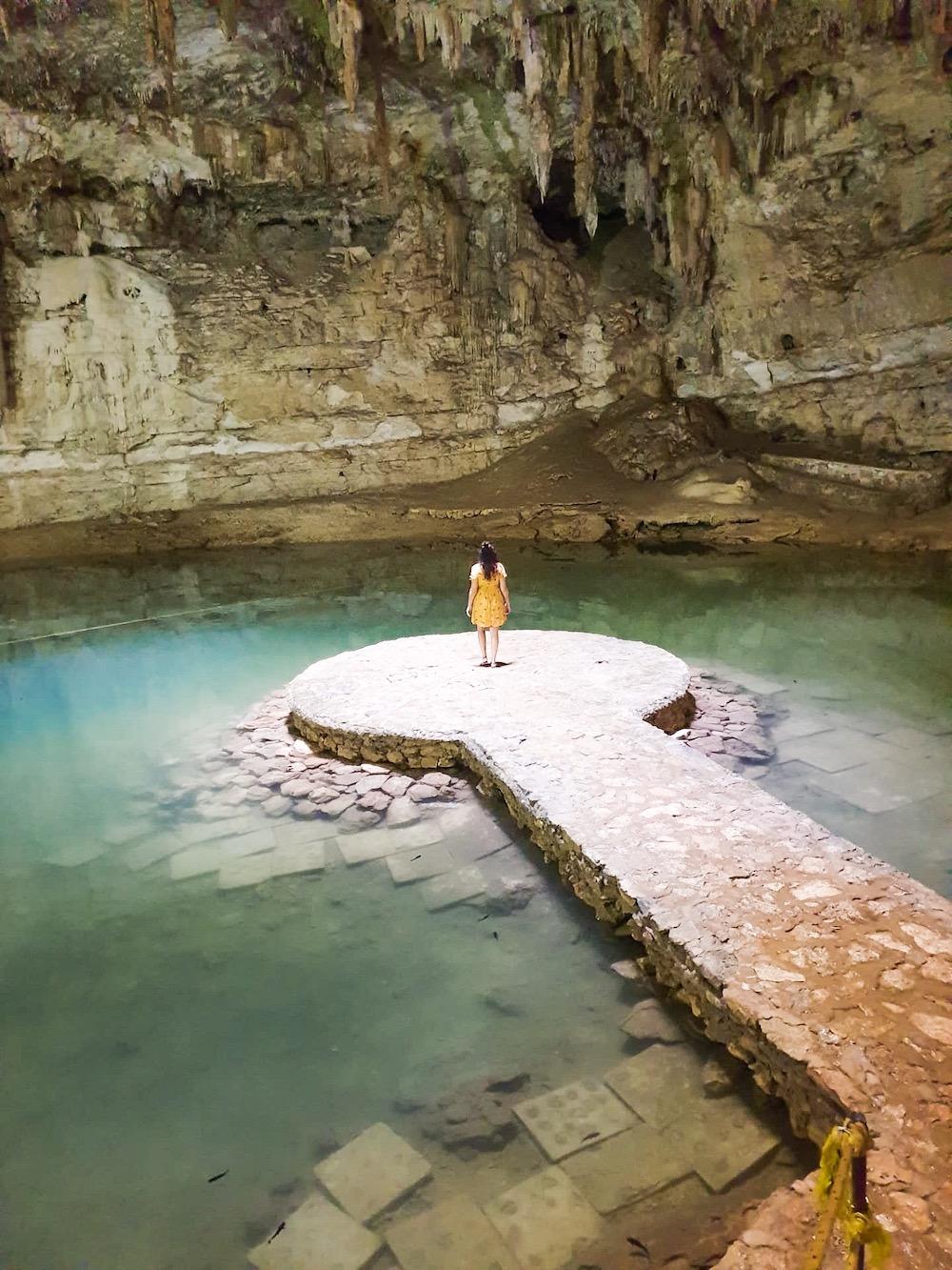 rondreis mexico Cenote Suytun