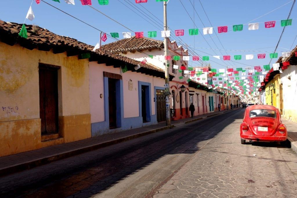 route mexico San Cristobal
