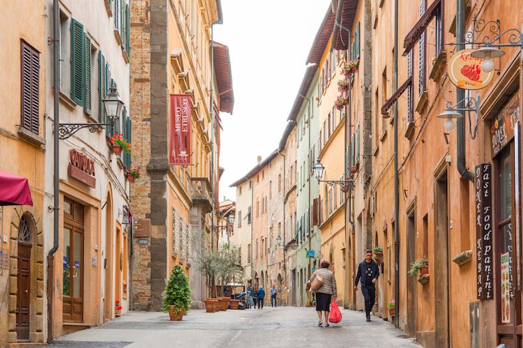 route toscane Volterra