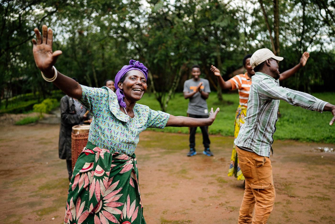rwanda Red Rocks community center