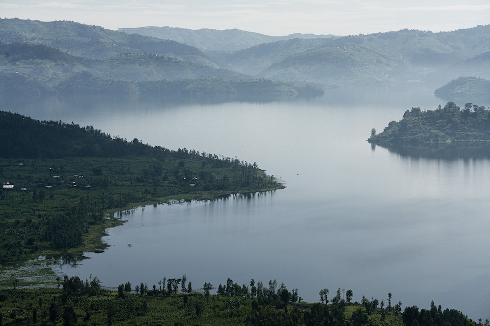 rwanda reizen landschap