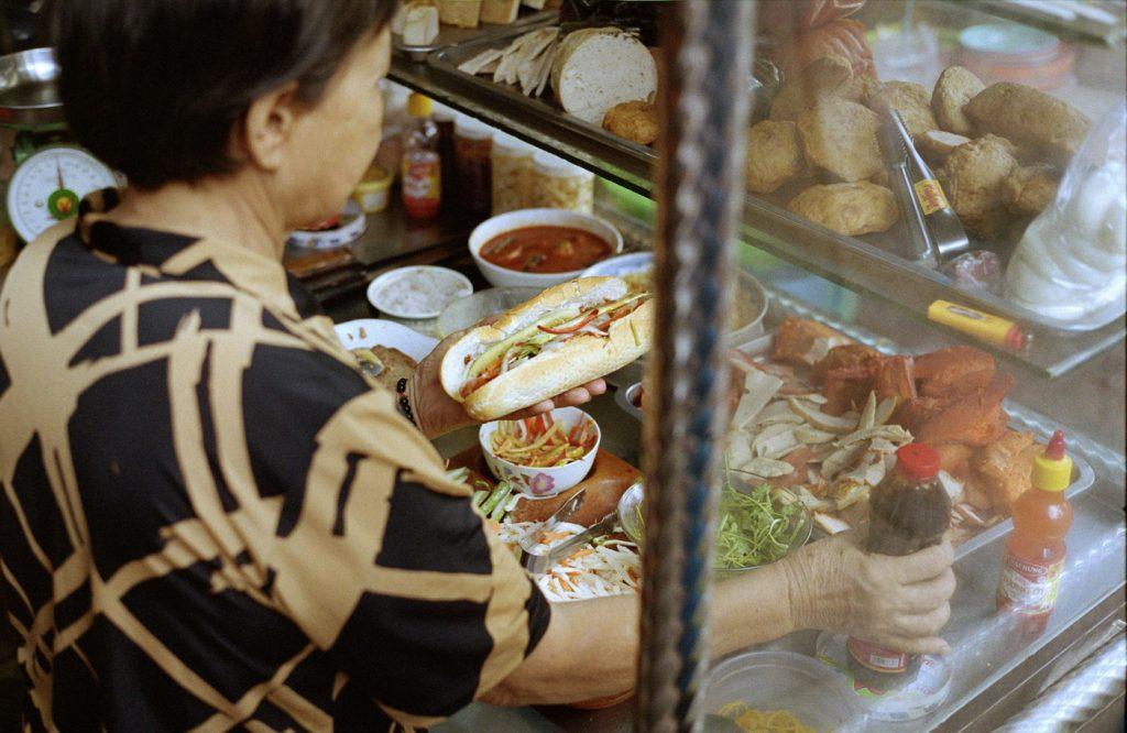 saigon vietnam Banh Mi stalletje