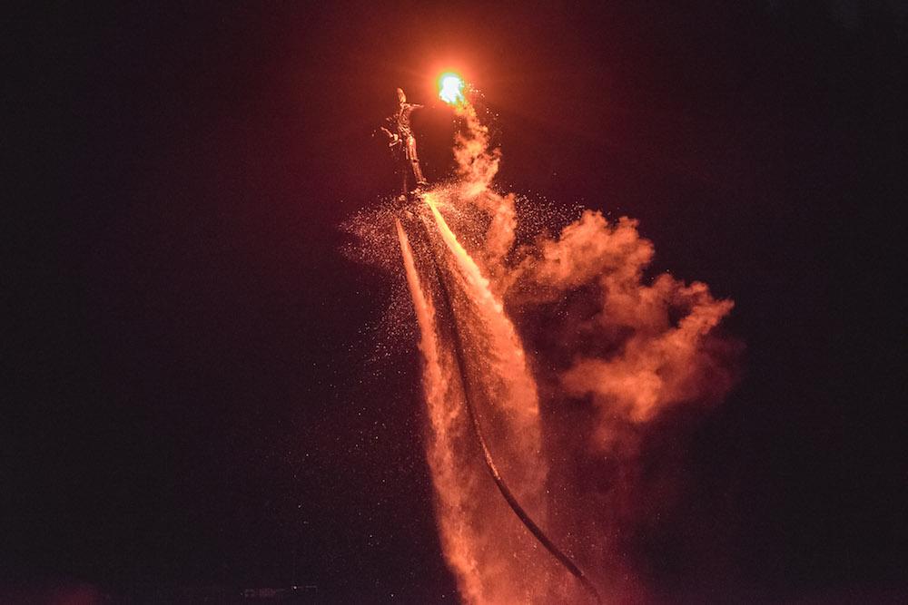 savoie Mont Blanc vuurwerk 14 juli