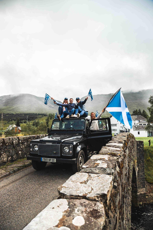 scotland rally meedoen roadtrip