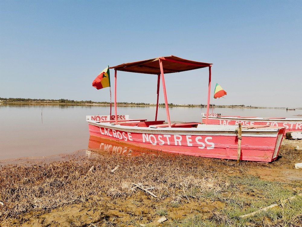 senegal trip Lac Rose