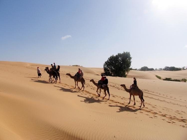 senegal woestijn van lompoul