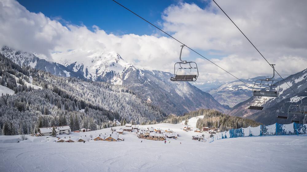 silvretta Montafon skilift