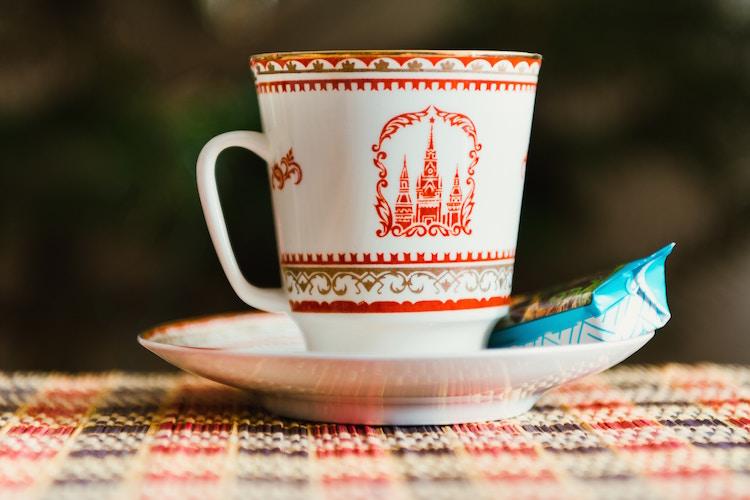 sint petersburg budget Rusland kopje thee