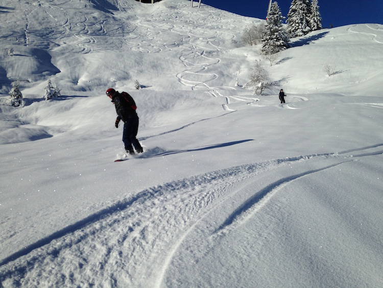 ski gebied saint gervais wintersport