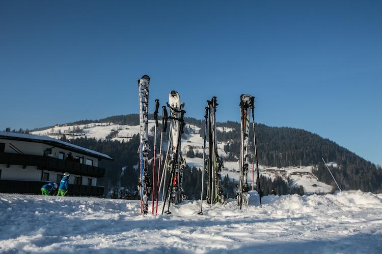 skigebied brixental oostenrijk skien