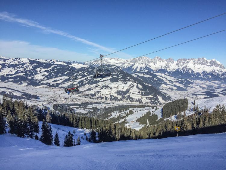 skigebied brixental oostenrijk skilift