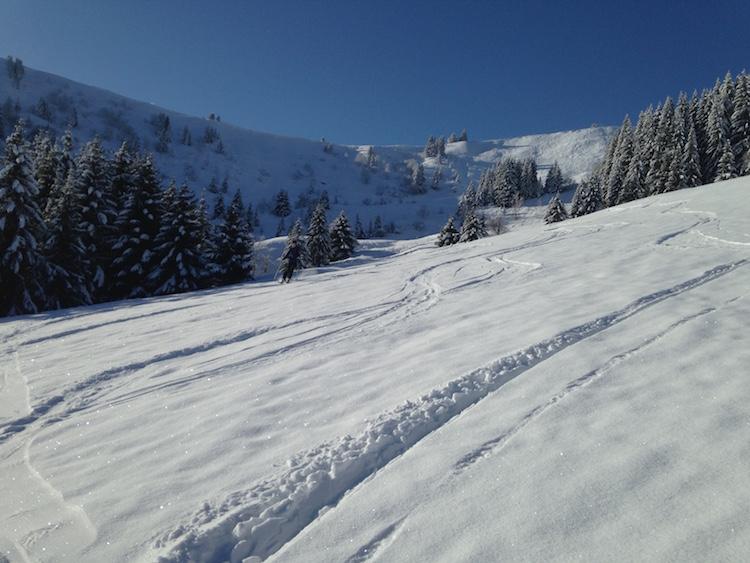 skigebied saint gervais frankrijk