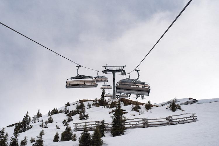 skiliften kitzbuheler alpen