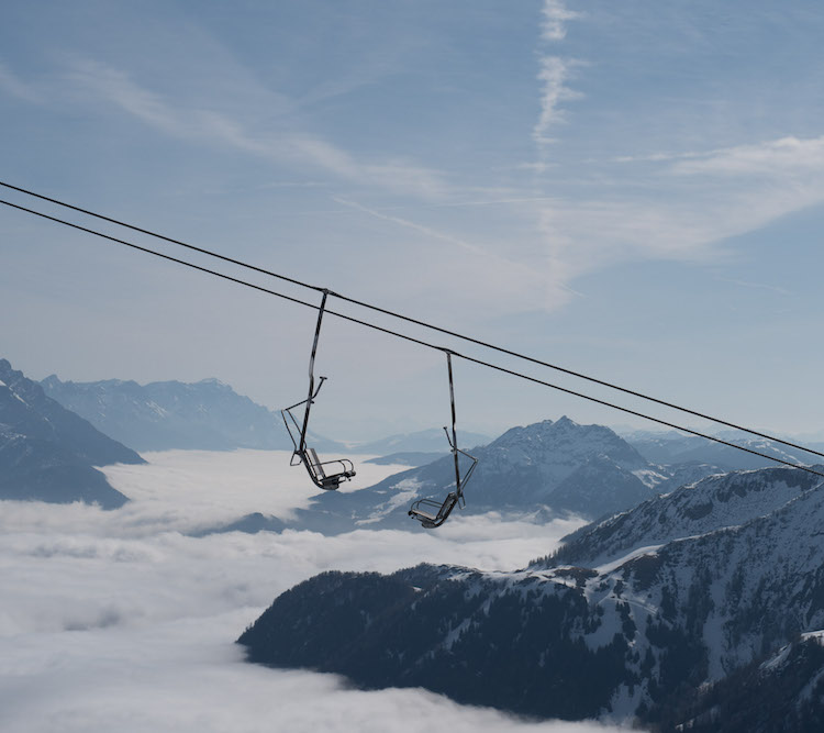 skiliften oostenrijk kitzbuheler alpen