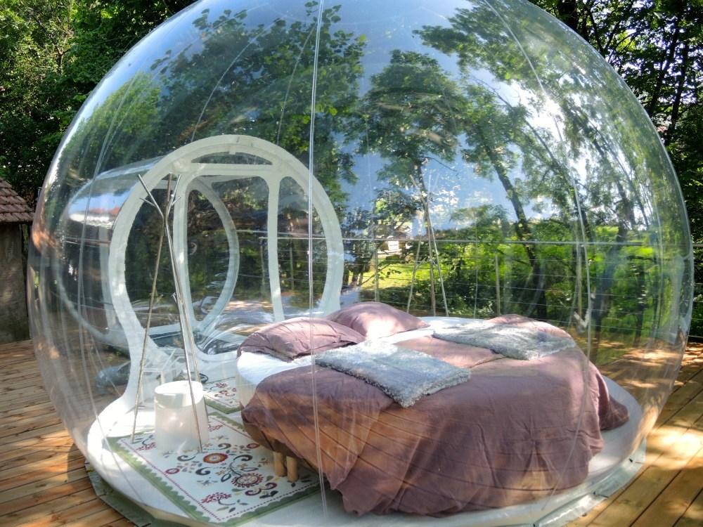 slapen-in-the-bubble-tent-vogezen-frankrijk