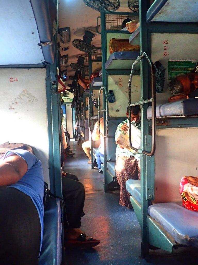 sleeper trein india