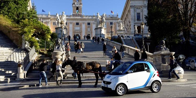 smart car roadtrip