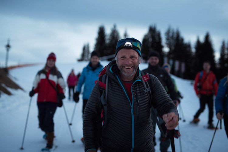 snowshoeing kitzbuheler alpen