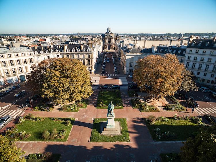 stad versailles frankrijk