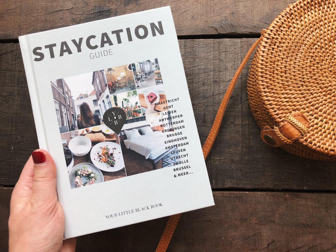 staycation boek