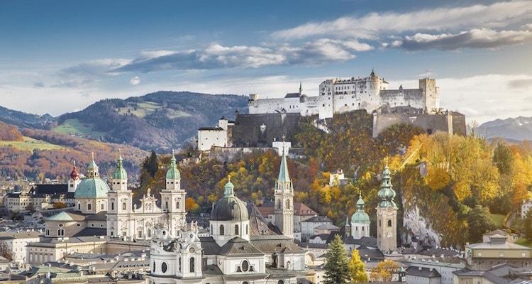 stedentrip met auto Salzburg