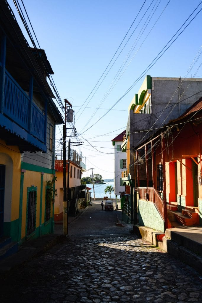 straatjes flores guatemala