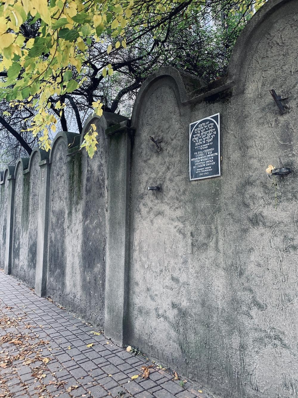 straatjes in krakau polen