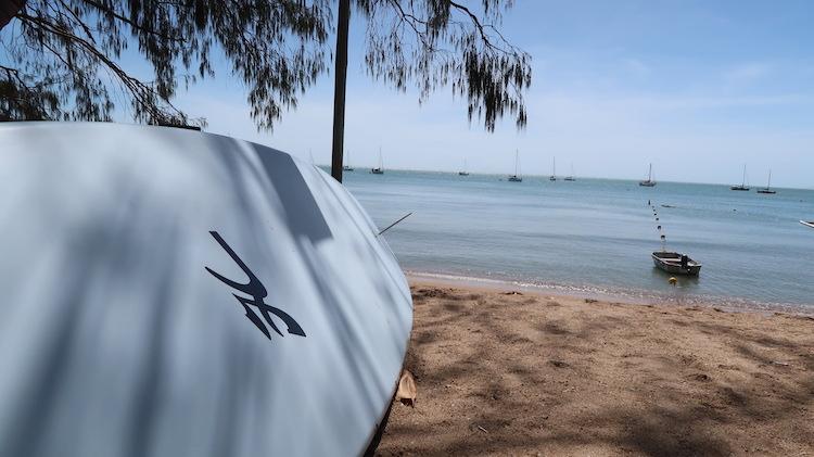 strand backpacken australie