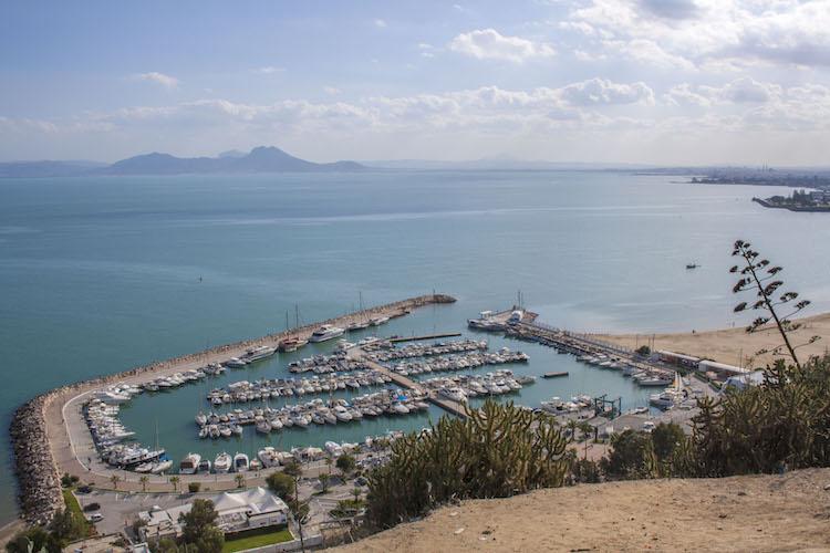 stranden in tunesie uitzicht