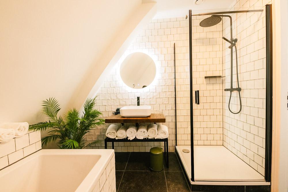 strandhotel Bloemendaal badkamer