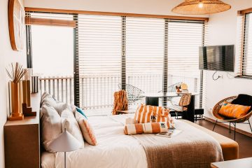 strandhotel Zoomers slaapkamer