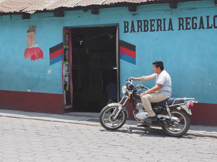 straten rondom chichicastenango in guatemala