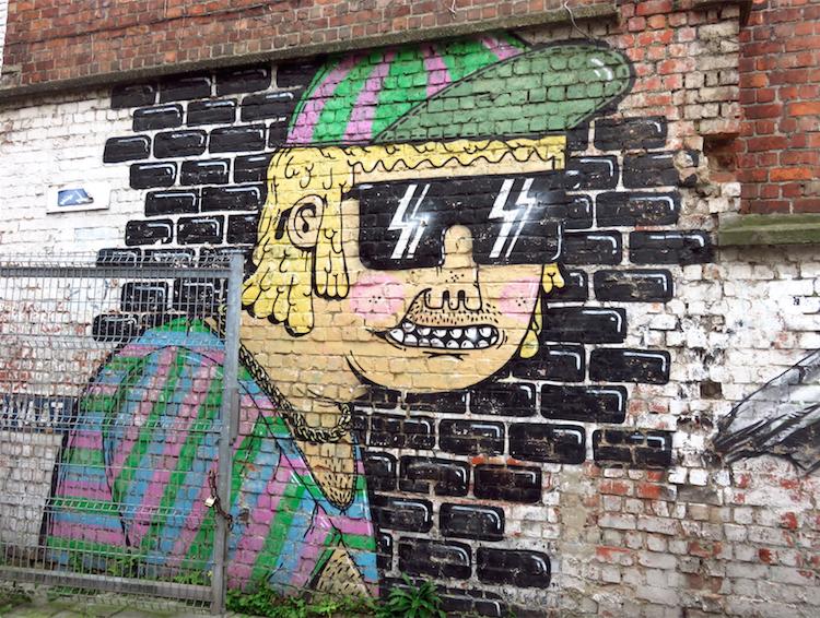streetart gent Mallehenkie