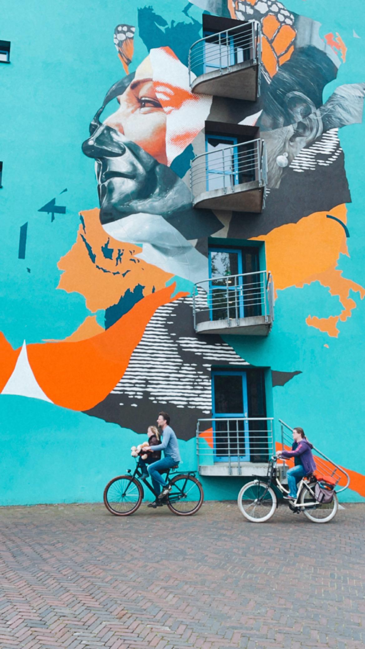 streetart in leeuwarden