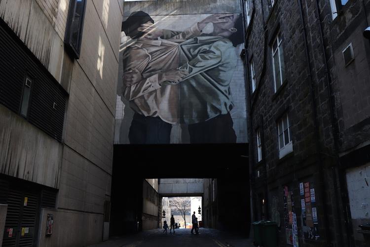 streetart kunst in aberdeen