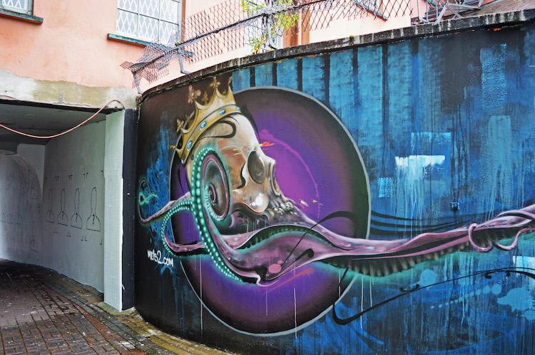 streetart oost ierland