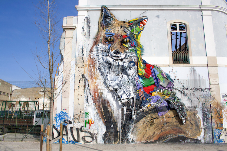 streetart tour in lissabon