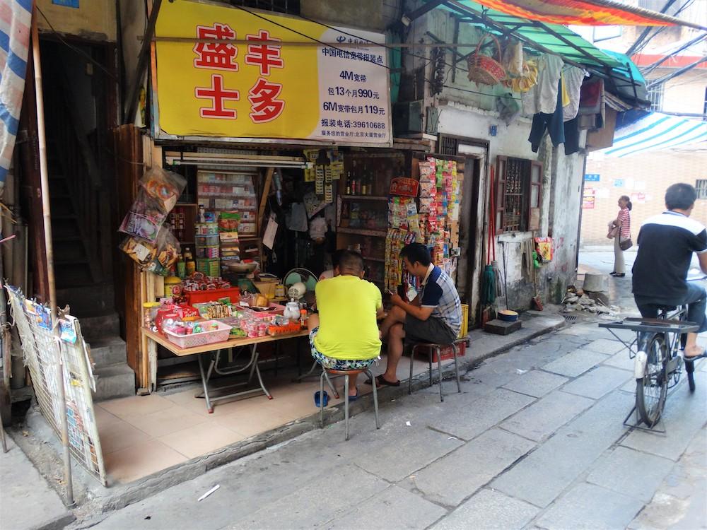 streetlife in guangzhou china