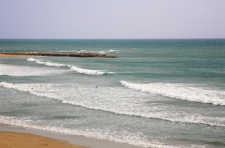surfen cadiz andalusie