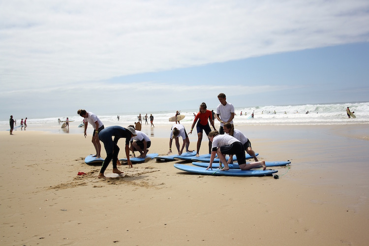 surfen frankrijk surflessen progress surfcamp