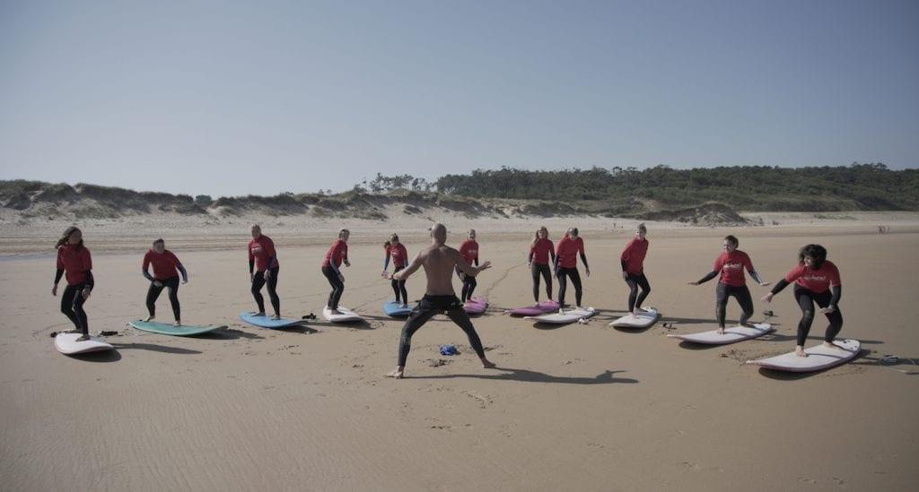 surfen les groep