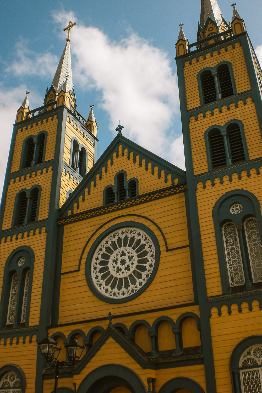 suriname vakantie kathedraal
