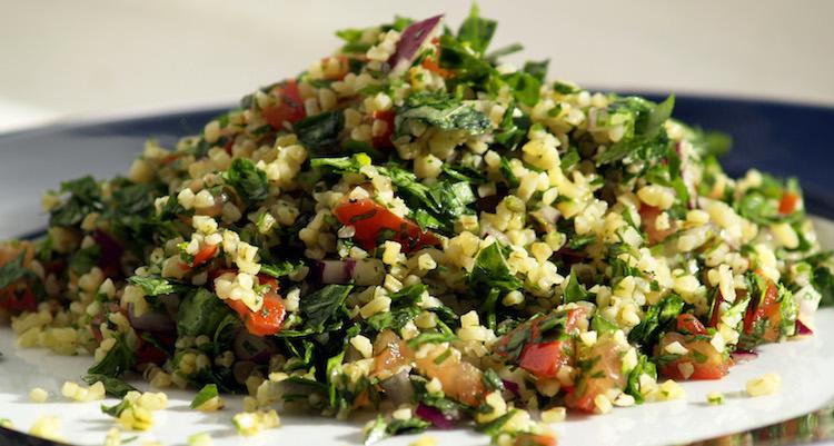 tabouleh gerecht eten in jordanie