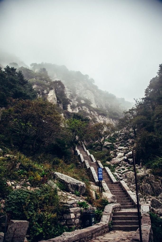 taishan china heilige berg